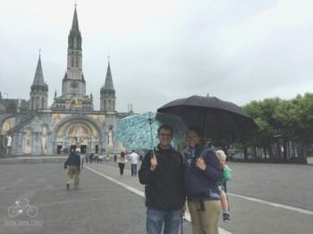 Rainy Day in Lourdes