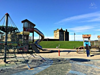 Playground at Broughty Castle
