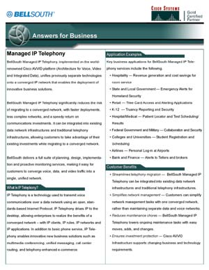 Collateral Cisco Datasheet