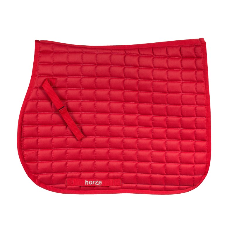 Horze Bristol VS AP saddle pad in red