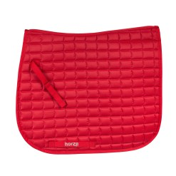 Horze Bristol VS dressage saddle pad in red