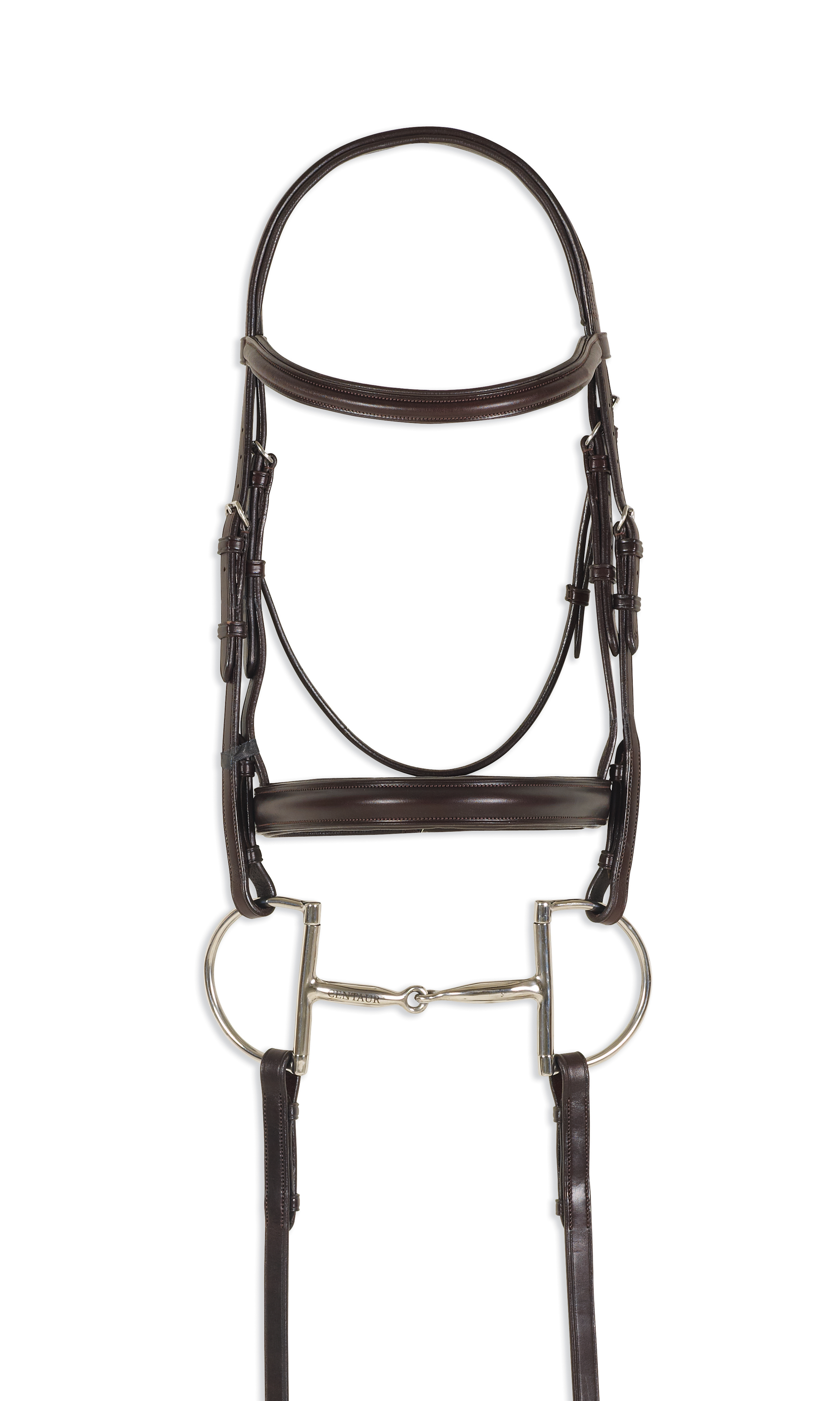 Ovation Breed Collection Qh Plain Raised Padded Bridle