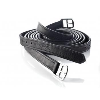 Fairfax Performance Calfskin stirrup leathers, black