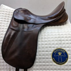 Sommer SL used dressage saddle in brown leather