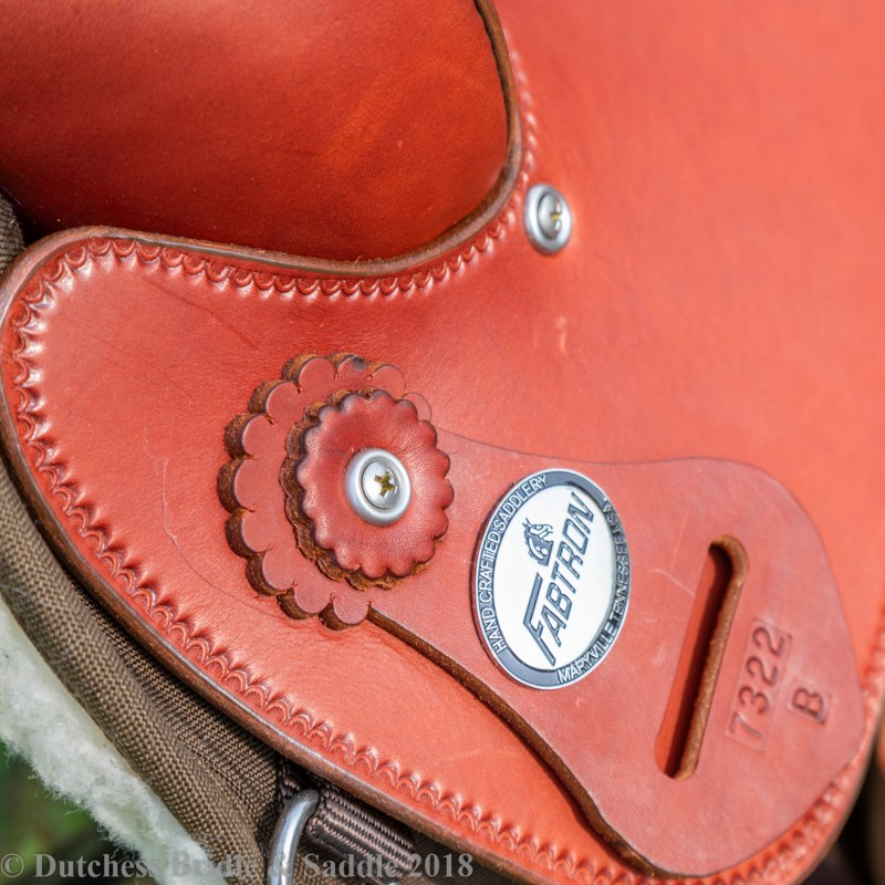 Fabtron Arabian quarter saddle plate