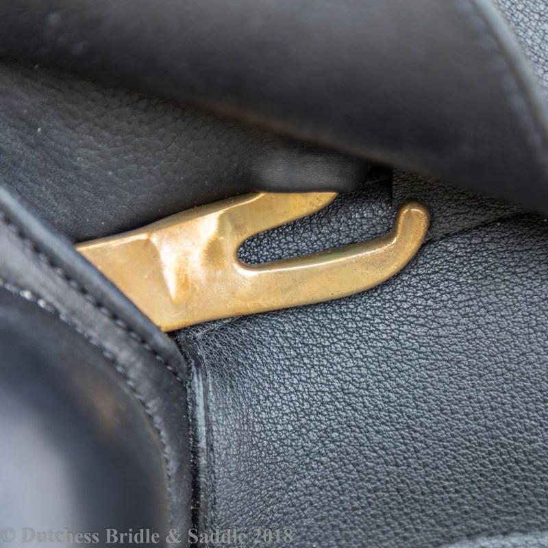 Veritas Novus dressage saddle stirrup bar