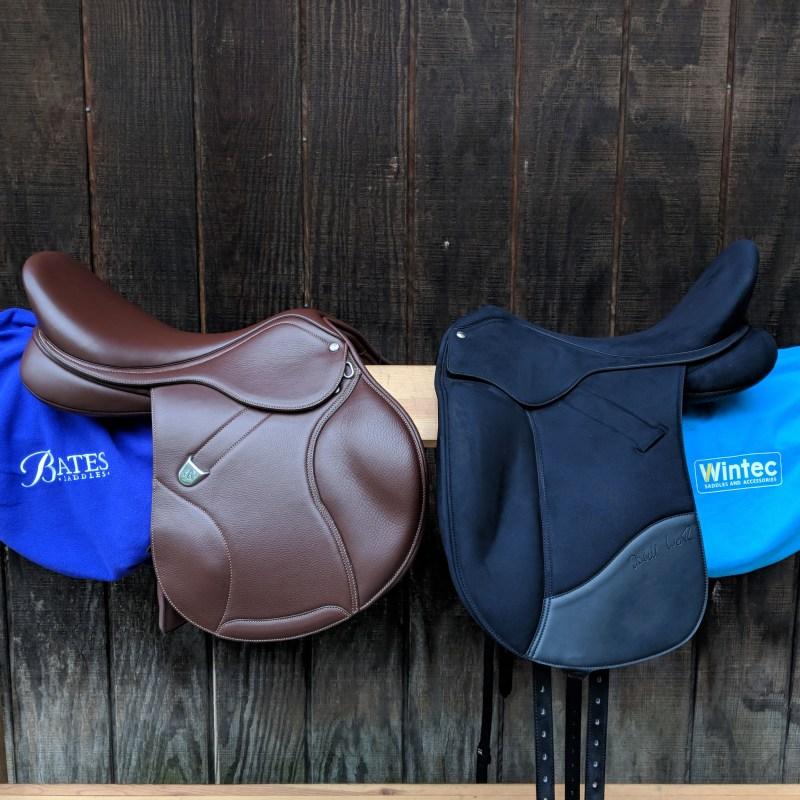 Interchangeable gullet saddles
