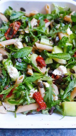 vegetarian pasta salad recipe