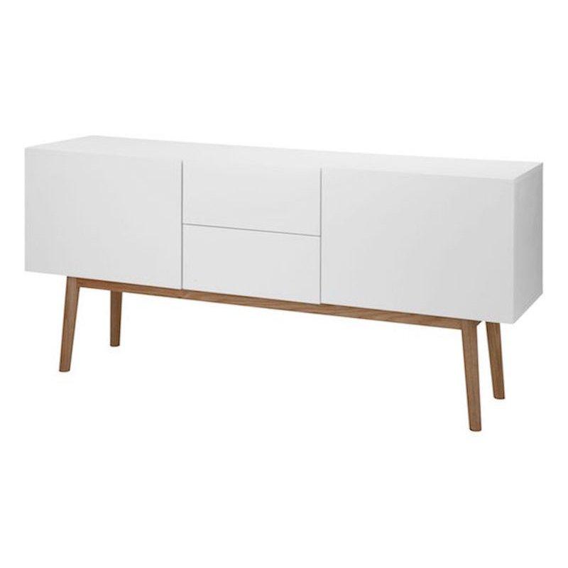 Scandinavisch dressoir wit