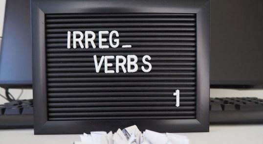 Irregular verbs in Dutch