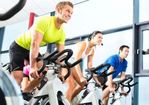 Cleaning Gym Equipment with Wipex-gym-wipes-cycling