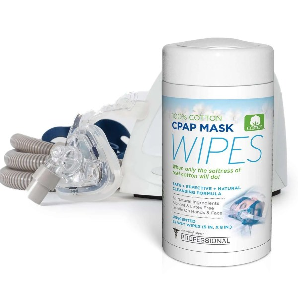 CPAP Mask Wipes and CPAP machine