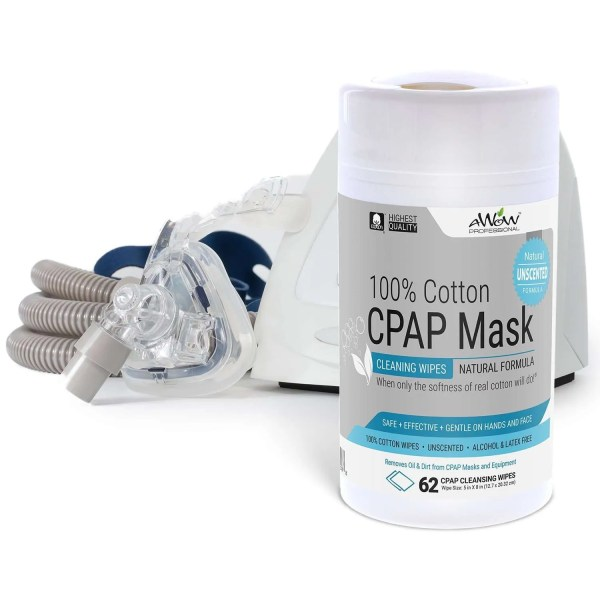 CPAP mask wipes unscented and Machine