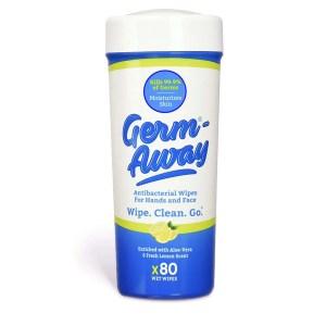 Germ-Away Antibacterial Hand Wipes