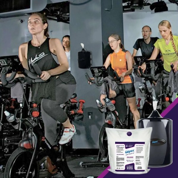 Wipex Fitness Equipment Wipes Great for Peloton Bikes
