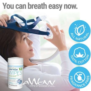 awow professional cpap wipes 62