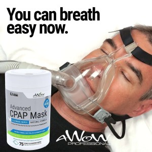 awow professional cpap wipes 75