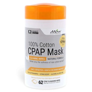 cpap wipes citrus scent
