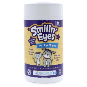 Smilin Eyes pet eye wipes 100ct