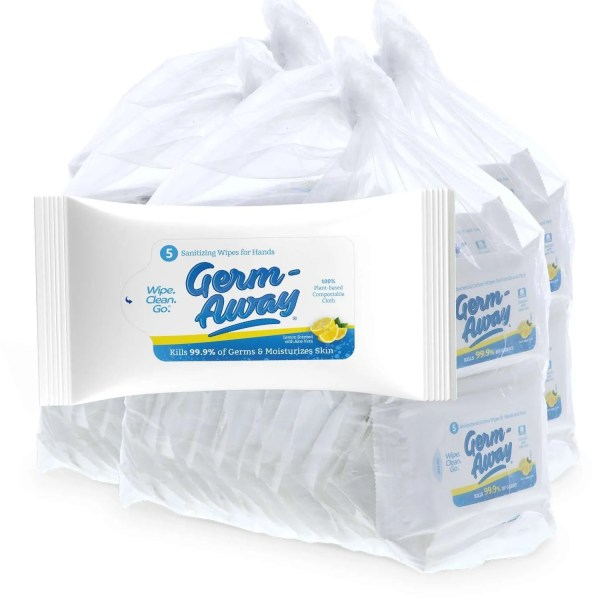 Germ-away Travel Packets 50 count bag