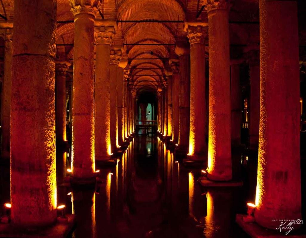 Basilica Cisterna, Istanbul