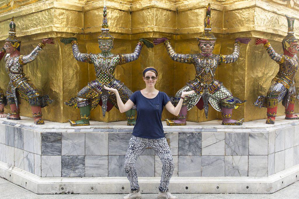 Reisroute Thailand