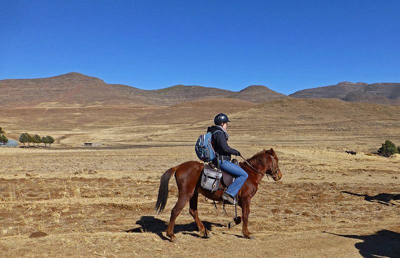 Paardrijden Lesotho