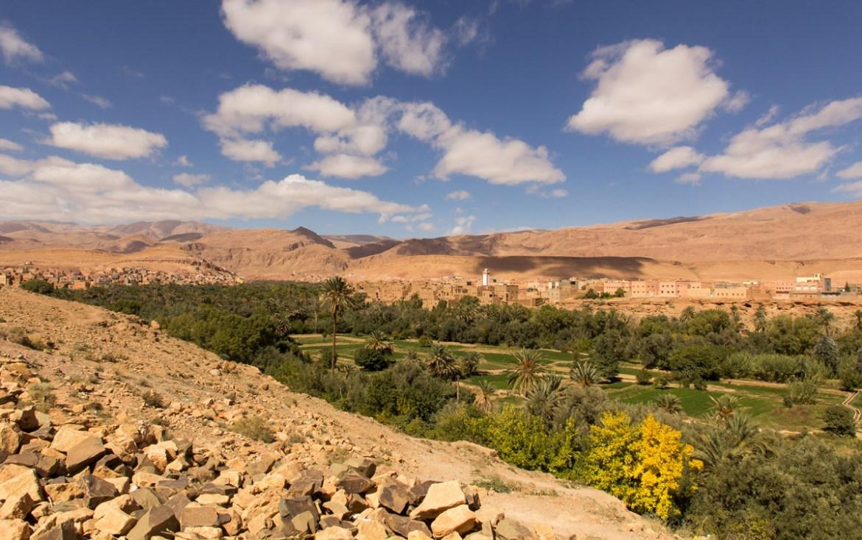 Todra kloof in Marokko