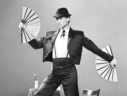 podiumact tango door goochelaar Dion