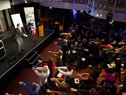workshop goochelen door goochelaar Robin matrix www.dutchmagic.nl