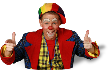 Clown Noni de leukste clown in Nederland