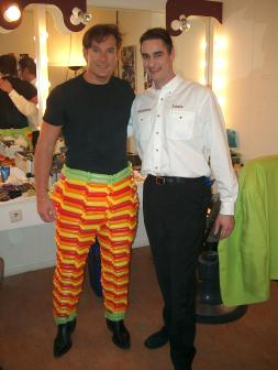 Gerard Joling & Louis Baerts dressed in air