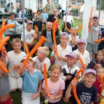 workshop ballooning door ballonartiest Louis Baerts