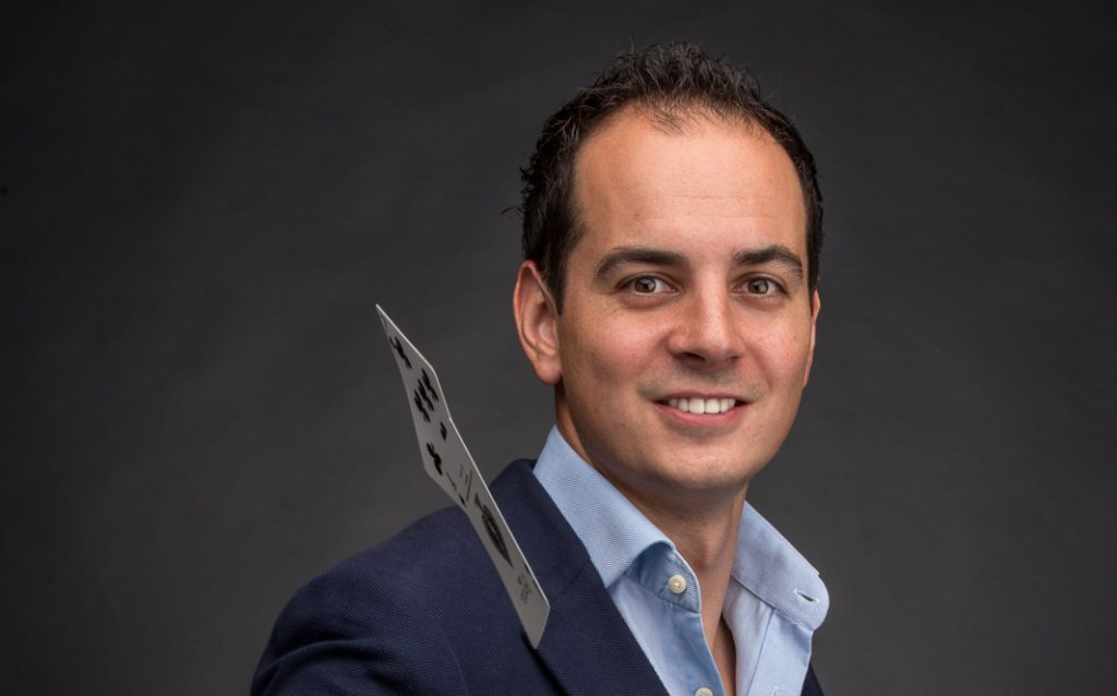 goochelaar Dave van Gulik, influencer