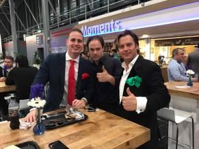 goochelaar robin, goochelaar jordi en goochelaar martijn op Infosecurity 2017