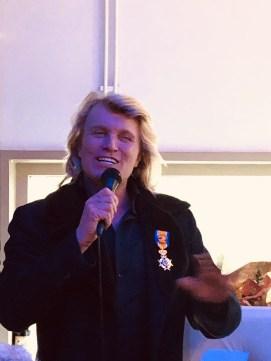 goochelaar en illusionist Hans Klok koninklijke onderscheiding