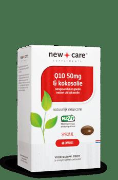 Q10 50mg & Kokosolie 60 capsules