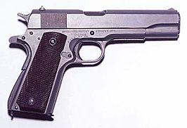 M1911, meest populaire wapens in de wereld