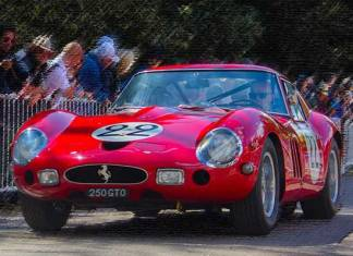 Ferrari GTO de allerduurste auto's ter wereld