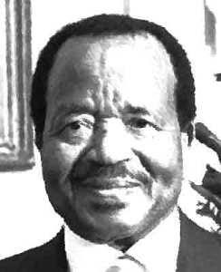 Paul Biya van Kameroen