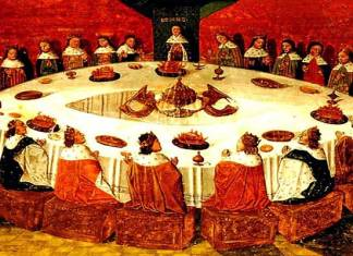 Het verhaal van King Arthur en de ridders van de ronde tafel