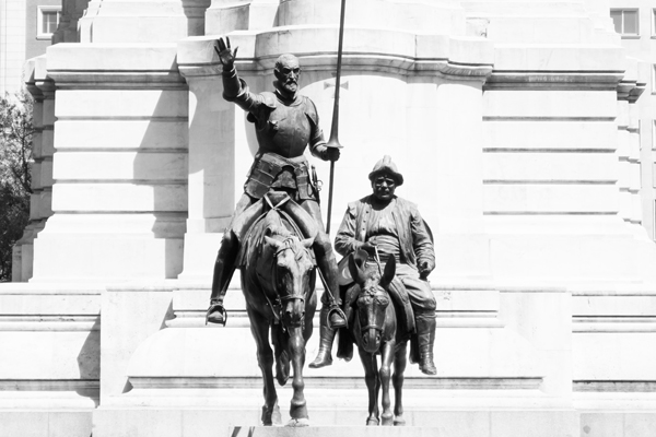 Best verkochte boek ter wereld is Don Quichot van Cervantes