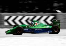 Mooiste Formule 1 auto ooit gemaakt is de Jordan 191