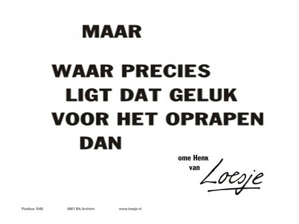Wat maakt Nederlanders gelukkig