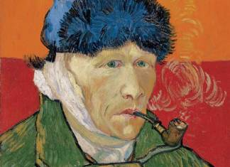 Vincent van Gogh: Zelfportret me afgesneden oor