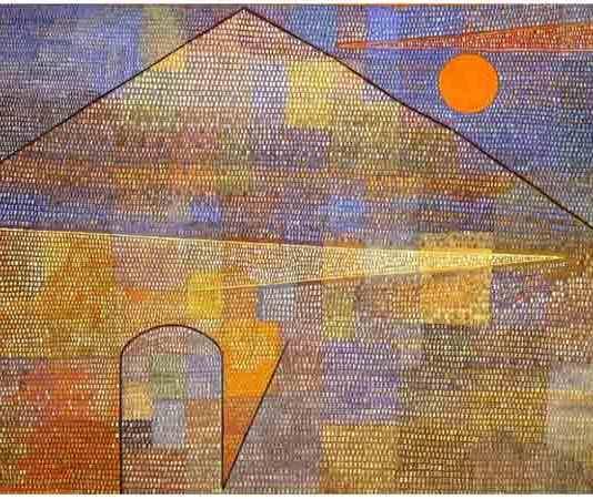 Bekendste Duitse schilder is Paul Klee