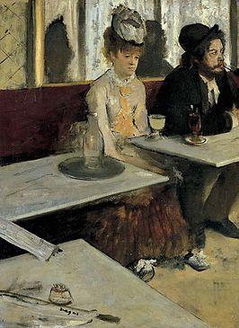 De absintdrinkster
