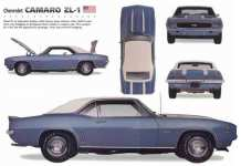 ZL1 Camaro - 1969