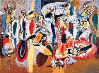 Arshile Gorky. The Liver is the Cock's Comb (1944)