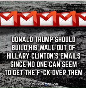 Donald Trump - Hillary Clinton emails